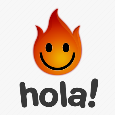 Логотип анонимайзера Hola
